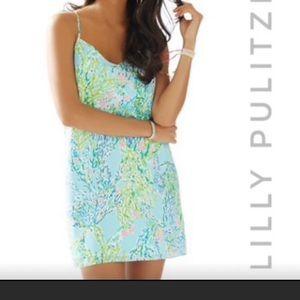 Lilly Pulitzer Shade Seekers Dusk Silk Slip Dress